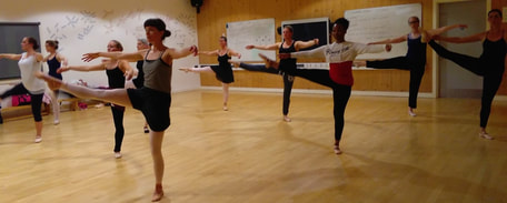 Adult Ballet classes Norwich