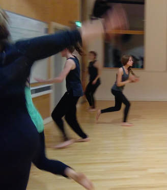Adult contemporary creative class with Nicky Gibbs Dance